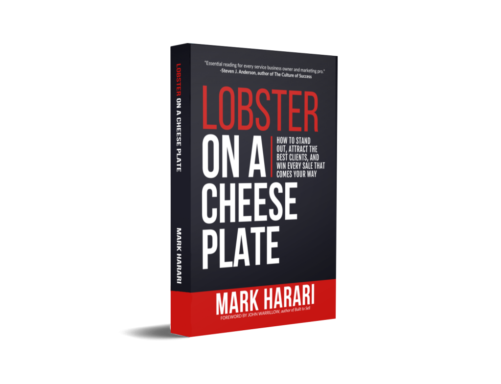 Lobster on a Cheese Plate marketing book